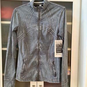 Lululemon Define Jacket SZ 10 Ice Dye Gray NWT❤️